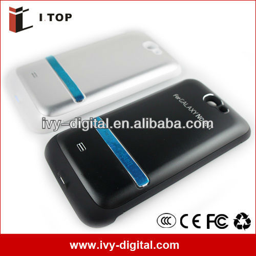 4200mAh Li-polymer External Battery Charger Case Power Bank For Samsung Galaxy Note 2/ Note II N7100 (SE014-1A)