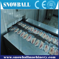 Fast delivery Industrail Fruit, Vegetable, Prepared Food Tunnel Blast Freezing machine