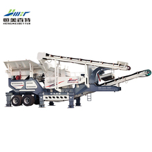 2018 new products portable rock crushing plant, big mobile crusher