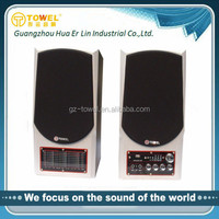 2.0 AC Multimedia Active Speakers hot selling Fashion design Home Theater Speaker surround sound