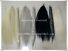 Decorative Horse Tail Hair Extensions with Cap Black False Horse Tail For Sell