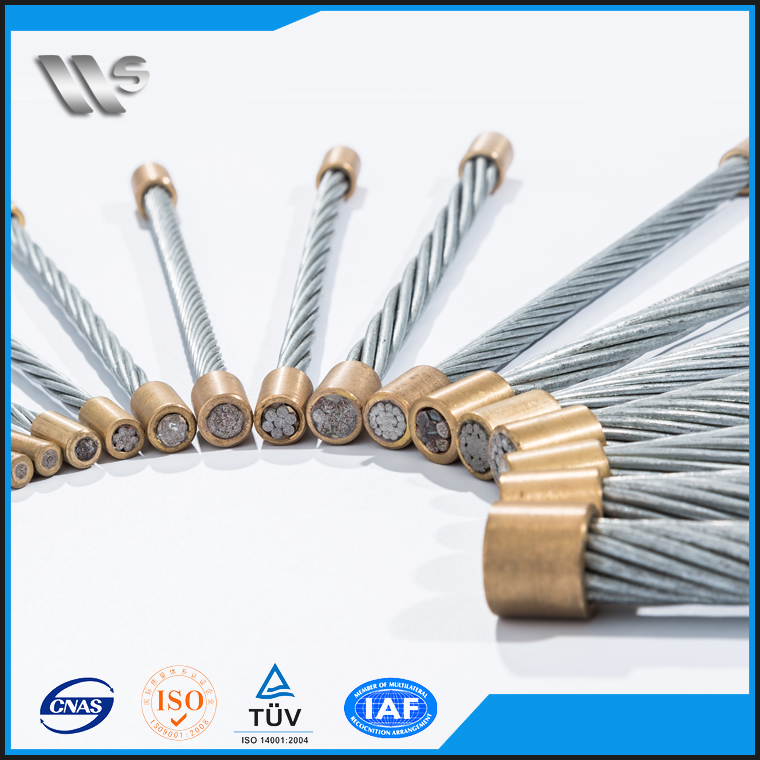 High Quality PVC Coated Welding Multi Strand Steel Wire