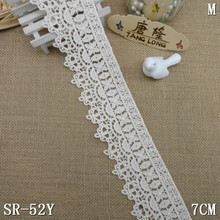 embroidery ivory bridal lace trim off white venise cotton lace