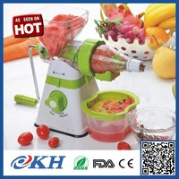 New fashion hand operated manual slow orange juicer,cold screw hand press juicer for better life