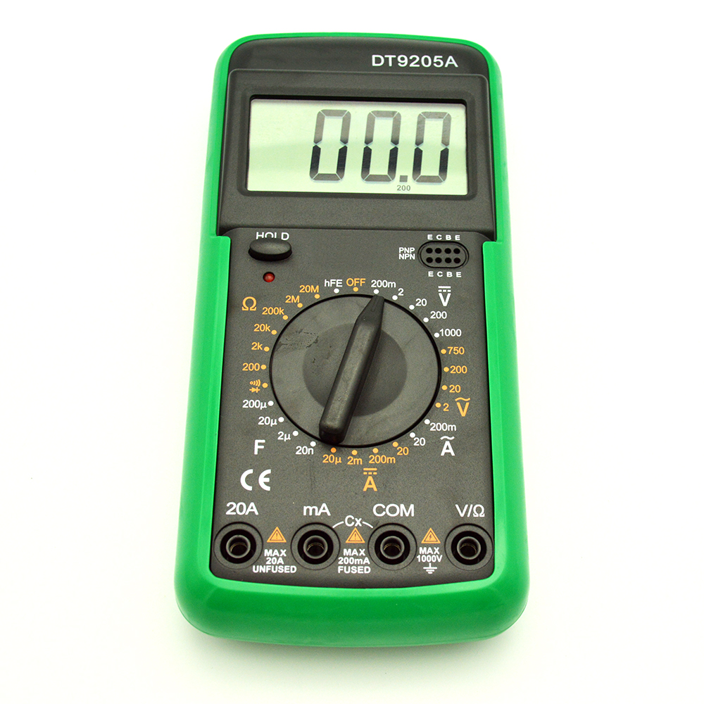 Digital Meter Dt9205a Testing Transistor With Multimeter Buy Quality Checker Buzzer 14