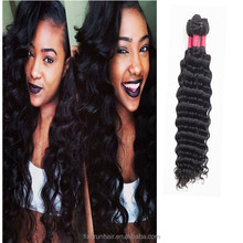 alibaba <strong>express</strong> deep wave curly hair brazilian hair extension ripple deep wave