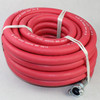 "3/4"" X 50' 300 PSI Red Jack Hammer Hose Assembly With Coupled Universals on Both Ends"