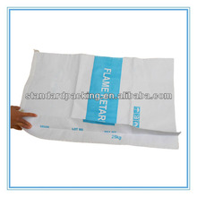 white paper bags 25kg industrial packaging bag