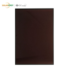 10% Transparent Amorphous Silicon 100w Thin Film Solar Panel China
