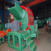 500kg full service waste tyre shredder equipment price