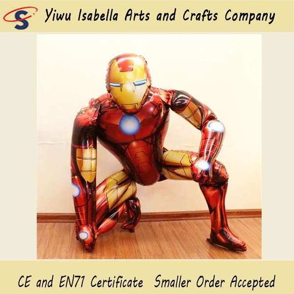 Customized inflatable helium Ironman advertising balloon price