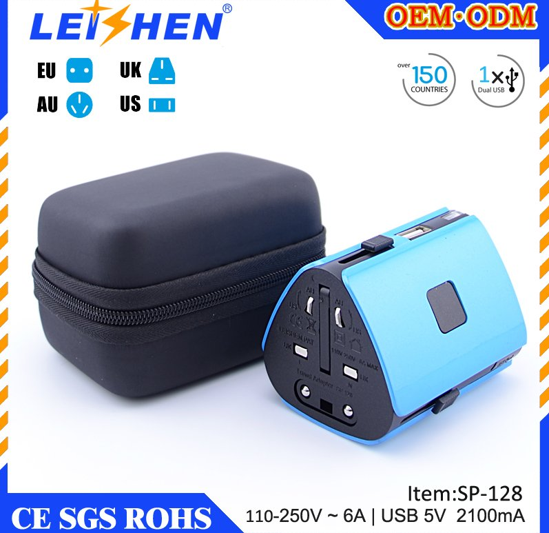 5V 2.1A travel adapter creative china lastest new promotional creative gift items