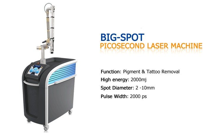 New products 2016 innovative spot removal and wrinkle remover pico laser