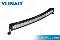 30inch offroad light bar/ 180W curved led double row for truck, pick up