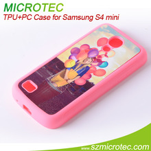 Sublimation TPU Case for Samsung S4 Mini