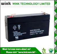 Hot Sale 6v 1.2ah UPS Replace Battery