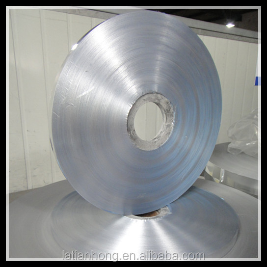 single side or double side bonded aluminium foil for cables