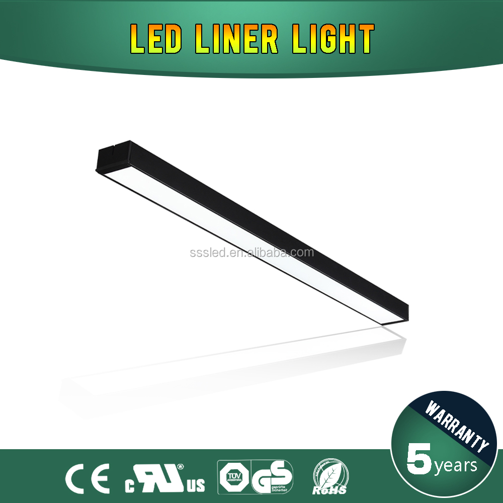 high brightness low price CE nature white 9w 600mm 600mm size led liner light