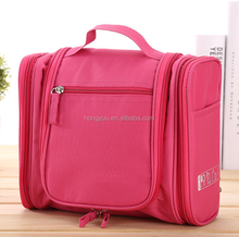 Women Portable Hanging Waterproof Travel Wash Bag Folding Travel Cosmetic Bag Travel Organizer Bag with Hooks