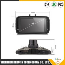 "GS8000L HD1080P 2.7"" Night Vision Car DVR Vehicle Camera with gps navigation"