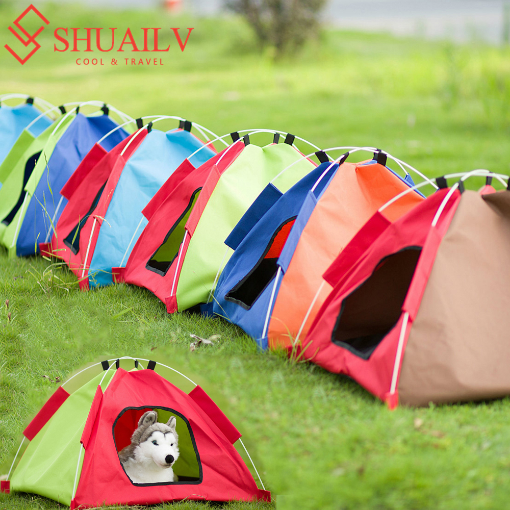Four Season Pet Tent Cat Nest Kennel Puppy Cages Easy Opening Detachable Houses Teddy Pet Dog Bed Tent