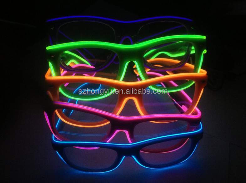 Beautitul Lighting EL Wire Diffraction Glasses