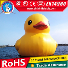 inflatable yellow duck, cartoon characters for advertising