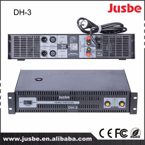 wholesale DH-3 professional powered amplifier 160w 4ohm High fidelity Stereo speaker amplifier