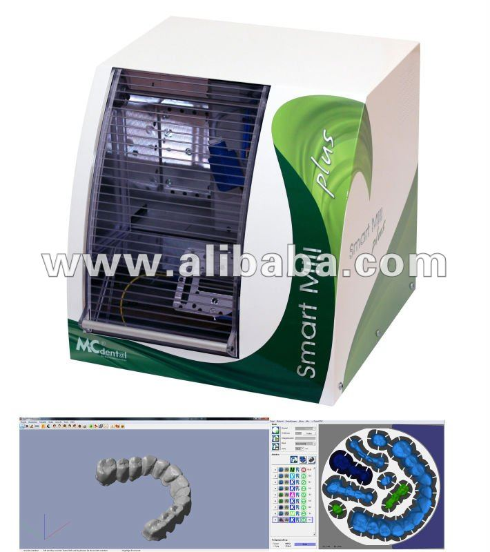 MC-Dental Smart Mill Plus / Dental Zirconia CAD CAM Milling Machine / System Made in Germany
