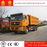 China supplier 3 axles 10 wheel dump truck for sale