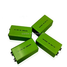 NIMH 9V 120mAh Rechargeable nimh battery for wireless meter reading