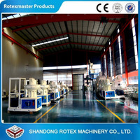 [ROTEXMASTER] Famous Brand Vertical Ring Die Wood Pellet Machine with Auto Lubrication System in 2016