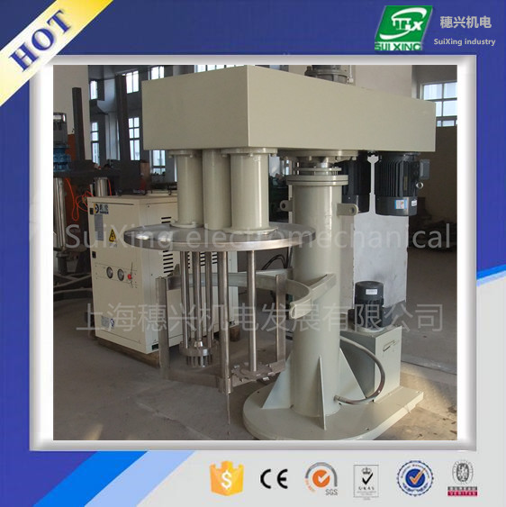 multi functional tri shafts mixer for adhesive