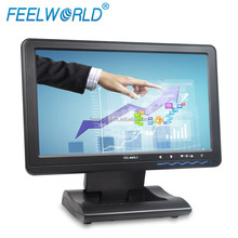 10.1 inch usb powered touch monitor resolution 1366X768 high resolution 4-wire resistive touch laptop screen extension