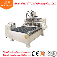 Osain CNC Wood Router / 1325 Furniture Engraving Cutting Machine / Wood Carving CNC Router