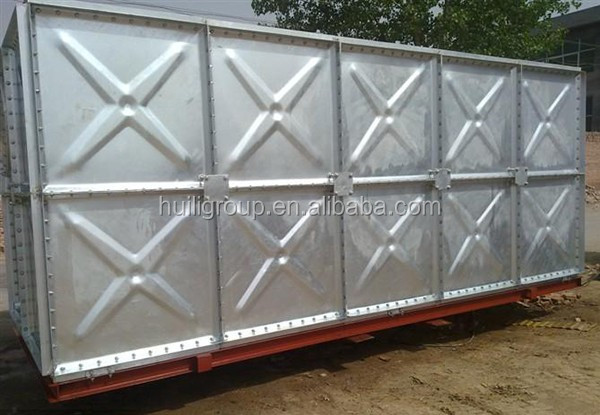 Insulated Galvanized Steel Water Storage Tank/Water Pressure Tank