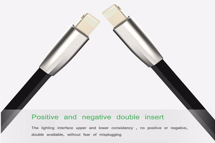 Wholesale Quick Charge Diamond Shape Metal Plug for iphone Android Type C USB Data Line Cable