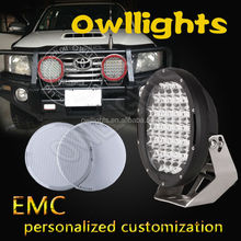"9"" 111w LED Driving Light 24 volt truck lights for Offroad, Truck, Car, 4X4, 4WD, ATVCar Parts"