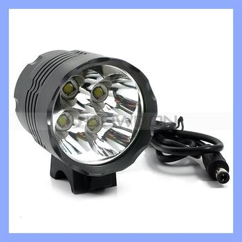 4 Cree T6 Bicycle LED Light with 3 Light Modes