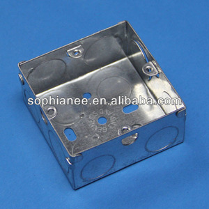 Hot Selling 3x3 Metal Emt Conduit Boxes