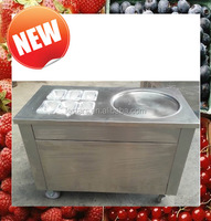 High capacity fried fruit ice cream machine supply from factory