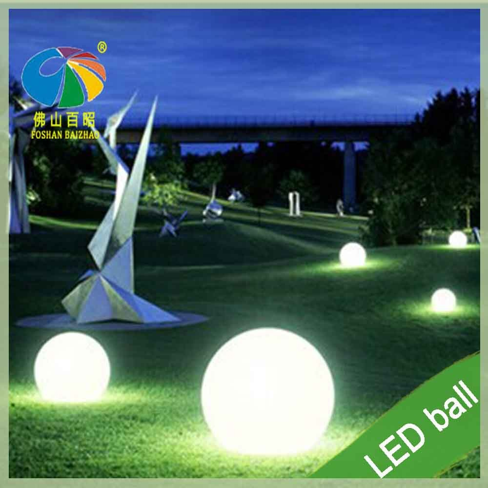 Outdoor Garden Party Decoration Sphere Floating Waterproof Led Light Ball