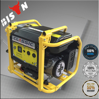 BISON China Taizhou Details Pictures Competitive Price 6.5kw Gasoline Generator Export to Uzbekistan