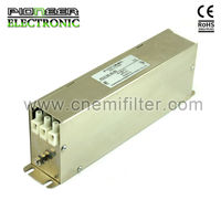 PE3120 7A-42A 275/480VAC Three Phase Filters,terminal block induction AC filter
