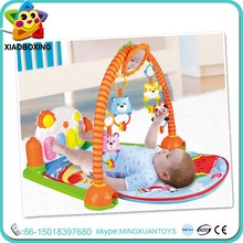 Top selling eco-friendly kids soft music play mat with baby toy piano