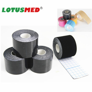 High Quality USA Special Synthetic Therapeutic Waterproof Cotton Muscle Tape printed