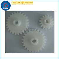 2014 new products nylon material plastic gear