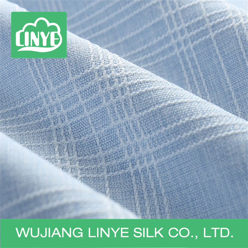 apparel , garment, home textile use 100% polyester woven jacquard fabric