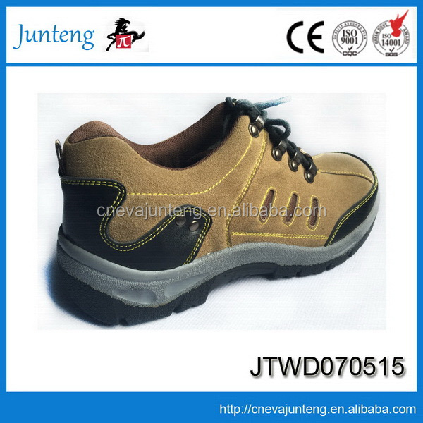High quality hotsell yellow gasoline industry safety shoes