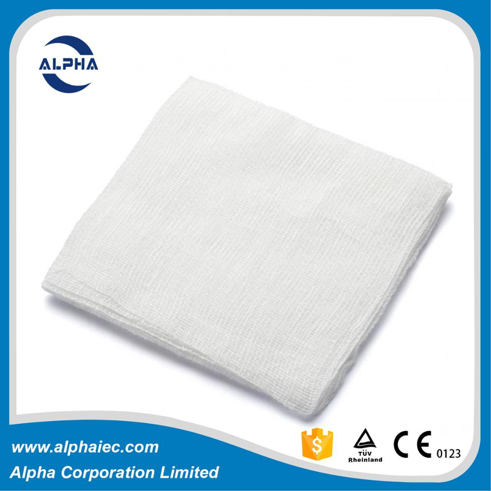 Disposable non sterile 4x4 gauze pads